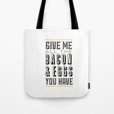 Bacon & Eggs Tote Bag