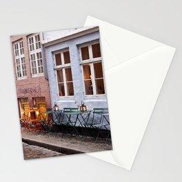 Copenhagen Sidewalk Cafe Stationery Cards