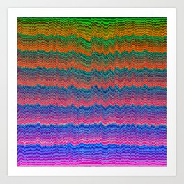 Wavezzz Art Print