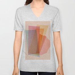 Abstraction_Spectrum Unisex V-Neck
