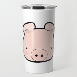 Piggy Kawaii Travel Mug