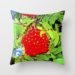 Divine Nature. Throw Pillow
