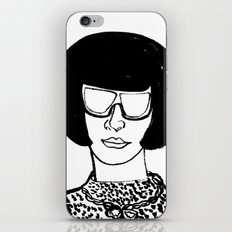 Faces of Fashion Part Deux iPhone & iPod Skin