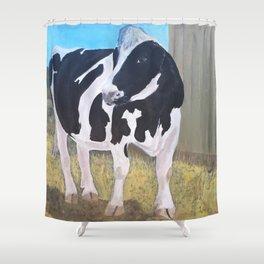 Cow - Farm Sanctuary Shower Curtain
