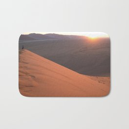 Sunrise from Dune 45 Bath Mat