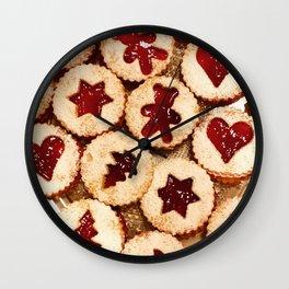 Christmas Cookies Pattern! Wall Clock