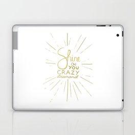 Shine on You Crazy Diamond Gold II Laptop & iPad Skin