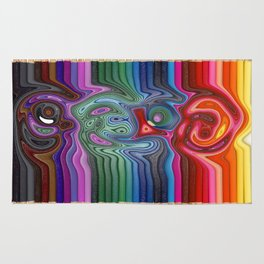 Twisted Pencils Rug