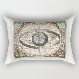 Harmonia Macrocosmica Map - Plate 02 Rectangular Pillow