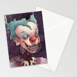 Creepy Clowns Series n.1 Stationery Cards