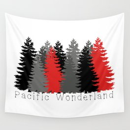 Pacific Wonderland Wall Tapestry