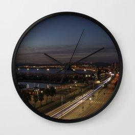 Gibraltar Nights  Wall Clock