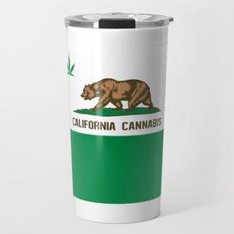 CALIFORNIA CANNABIS Travel Mug