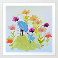 your kisses are the sweetest Art Print