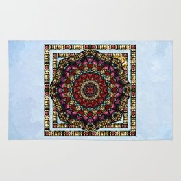 Angel Window Kaleidoscope Rug