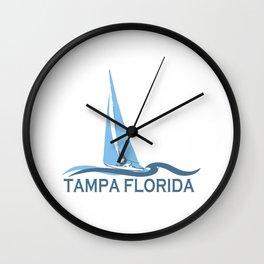Tampa - Florida. Wall Clock