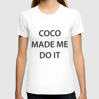 coco T-shirts featuring Coco  by RadFads