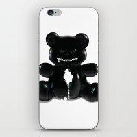 hug iPhone & iPod Skins featuring Hug by Bubblegun