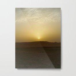 Judean Desert Sunrise  Metal Print