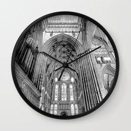 York Minster Art Sketch Wall Clock