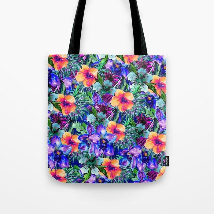 My Tropical Garden 9 Tote Bag