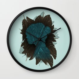 Ornithology. Wall Clock