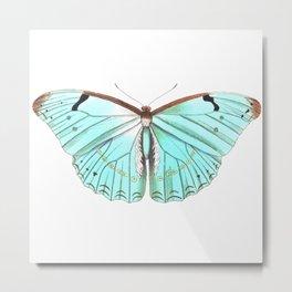 Butterfly Flutter By Metal Print