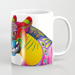 Oaxacan Big Cat Mini-Bust Coffee Mug