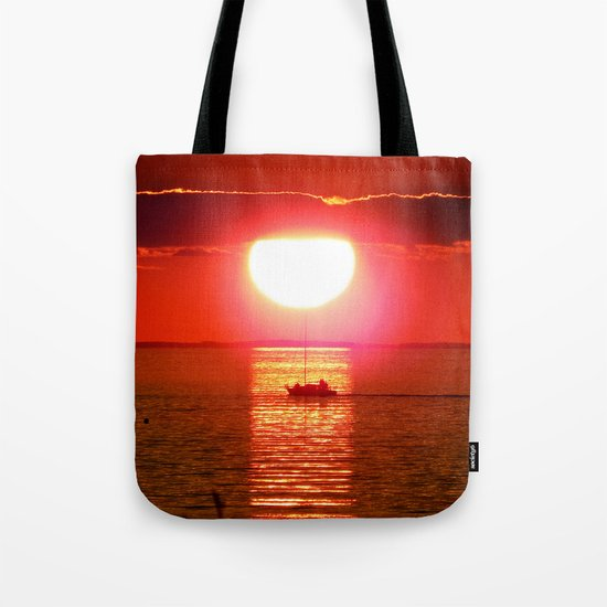 Sailboat Holds the Sun Tote Bag