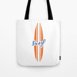 Surf T-Shirt Tote Bag