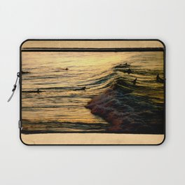 Sunset Wave Laptop Sleeve