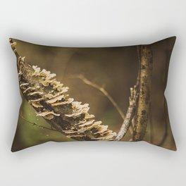 Nature Close Up Photo Print Rectangular Pillow