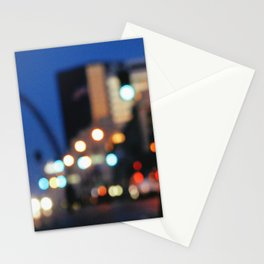 Arriving Downtown Stationery Cards