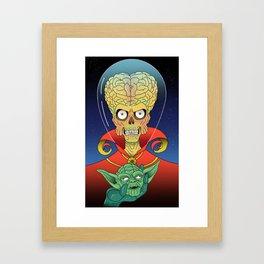 Mars ATTACK!!! Framed Art Print