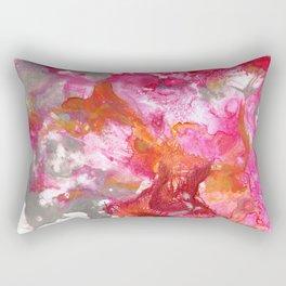 Magenta Explosion Rectangular Pillow