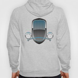 1930s Style Street Rod Car Grill Hoody