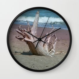All That Is Left Wall Clock