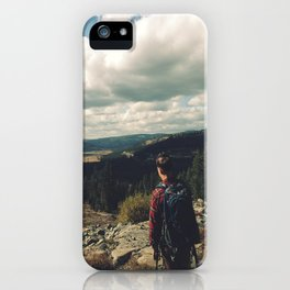 The Road is Long iPhone Case