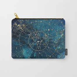 Star Map :: City Lights Carry-All Pouch