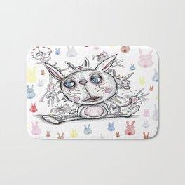 sad bunny Bath Mat