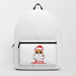 Fan of Guinea Pig and Christmas? Have them both with this cute and adorable tee!  Backpack