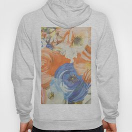 Soft floral design Hoody