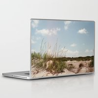 north carolina Laptop & iPad Skins featuring North Carolina in July  by Emma Lauren