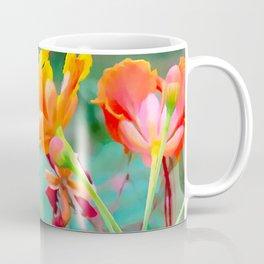 Peacock flower 2 Coffee Mug
