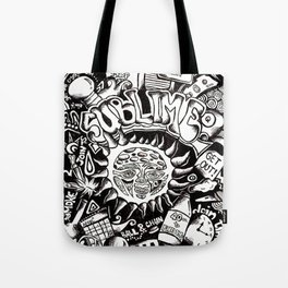 A Love Letter to Sublime Tote Bag