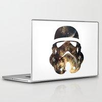 stormtrooper Laptop & iPad Skins featuring Stormtrooper by Benedikte