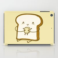 bread iPad Cases featuring Bread & Butter by Robo Rat