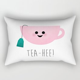 Tea-Hee Rectangular Pillow