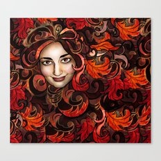 November Red Canvas Print
