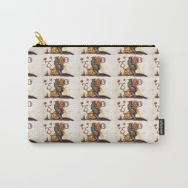 Sun and Moon Lions Pattern Carry-All Pouch